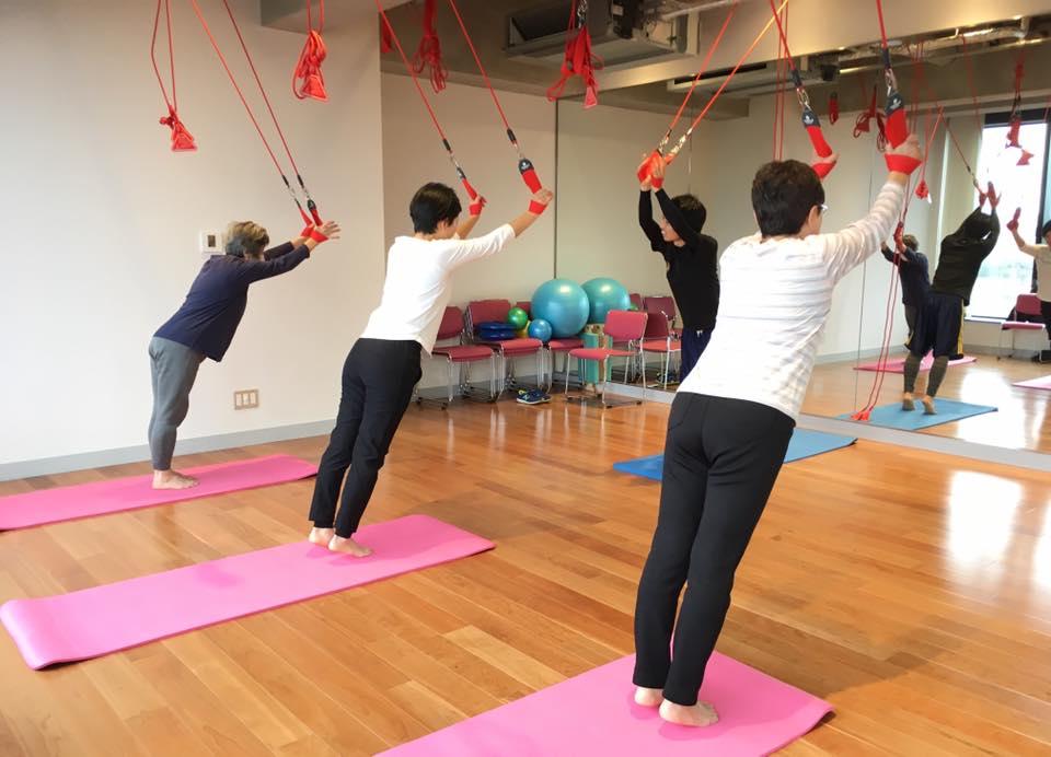 「大人のための体幹トレーニング教室・入門編」を初開催!ご好評いただきました